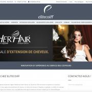 Site internet EliteCoiff
